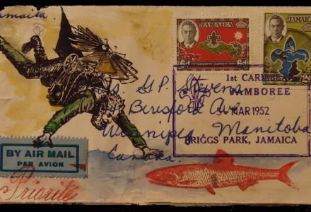 stamp - postkarte editorial