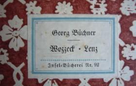 Georg-Büchner+Wozzeck-Lenz-Inselbuch-92-1A