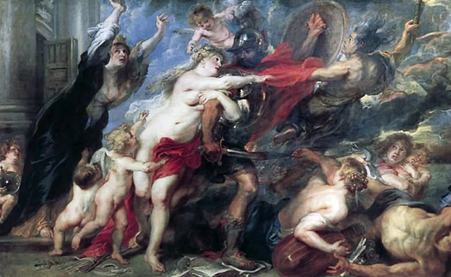 Peter Paul Rubens, Die Folgen des Krieges