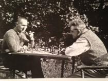 Münder Brecht und Benjamin in svendborg 1934