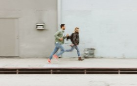 boss-fight-stock-photos-free-high-resolution-images-photography-man-woman-running-quickly
