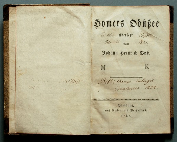 lit auer Homer_Voss_Odyssee_1781