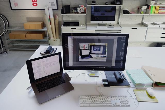 © Erik Spiekermann Erik Spiekermanns Schreibtisch