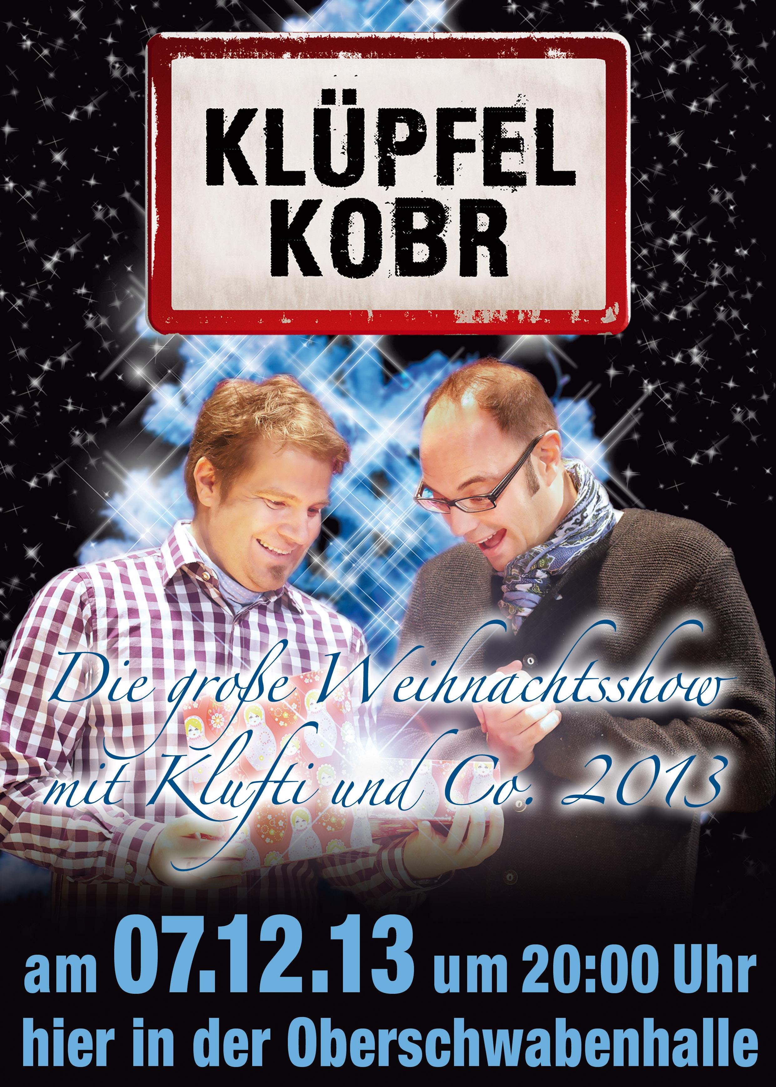 Weihnachtslesung mit Volker Klüpfel und Michael Kobr
