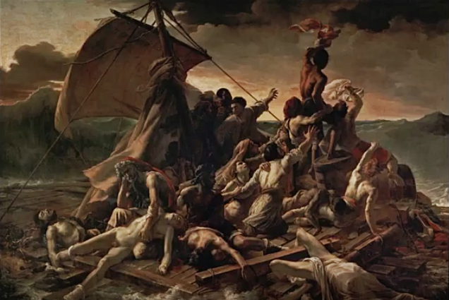 Théodore Géricault - Das Floß der Medusa