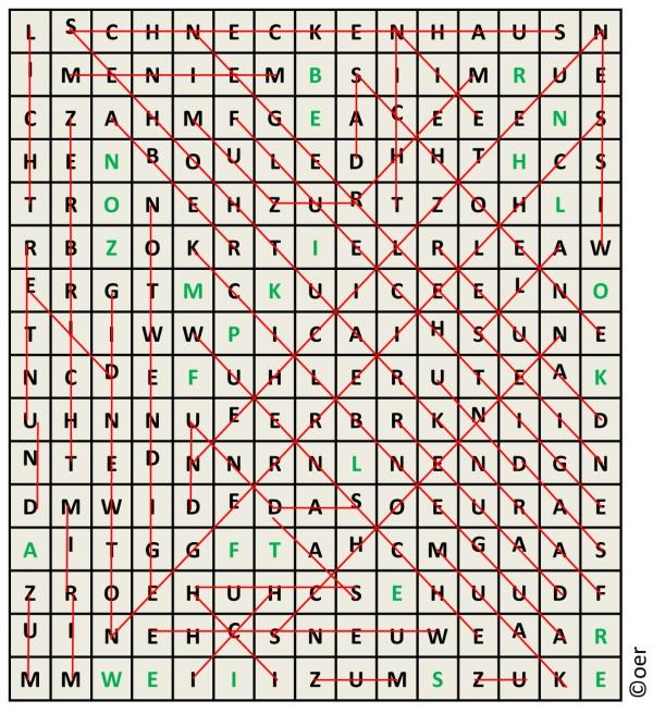 Literatur-Preisrätsel Februar 2011 – Cryptic Crosswords