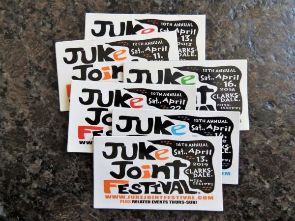 Foto 20) Magnetschilder Termin Juke Joint 2019