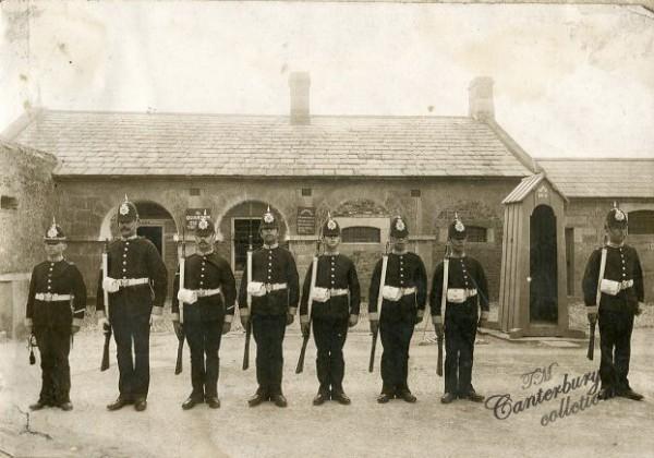 buffs changing guard 1895