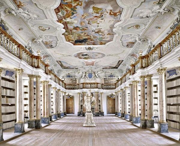 Biblioteca di Ottobeuren in Germania