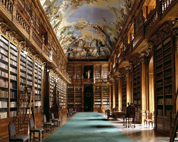 Biblioteca di Strahov a Praga 06