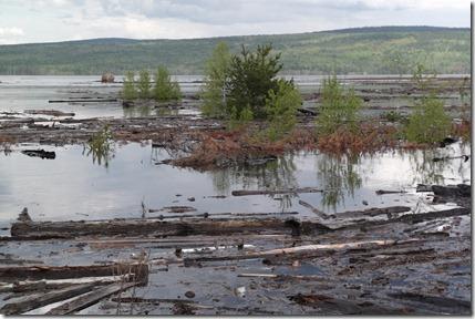 boguchany reservoir filling
