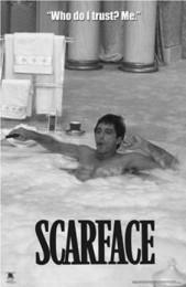ute scarface-hot-tub-bw