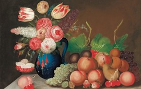 vW.B._Gould_-_Still_life_with_fruit_and_flowers_-_Google_Art_Project