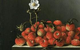 Adriaen Coorte_5_Stillleben mit Erdbeeren, 1705, Mauritshuis, Den Haag
