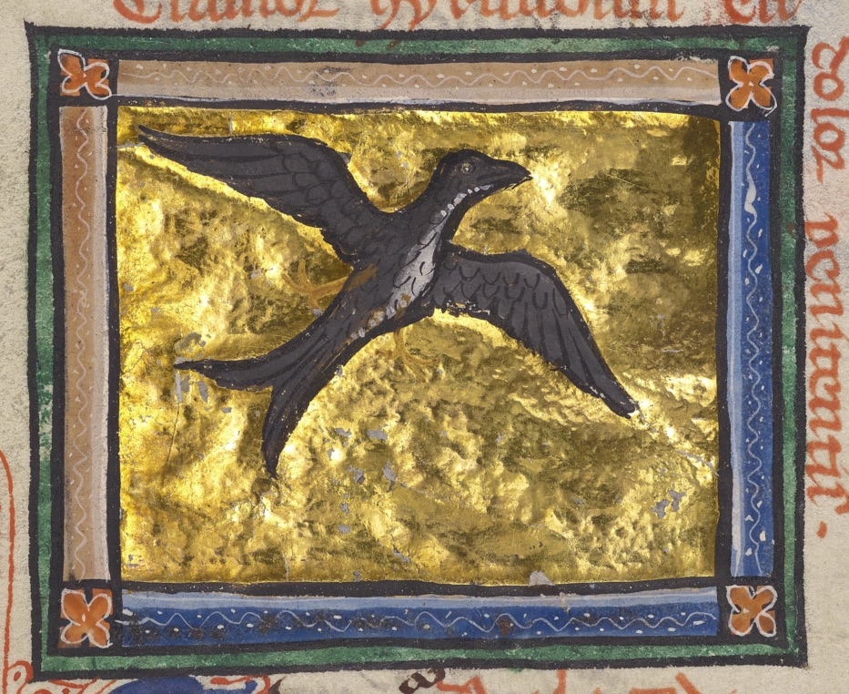 Getty Open Content, Swallow, ca. 1270