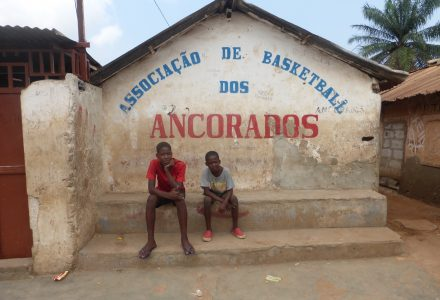 Gemeinschaftsplatz in Sambizanga