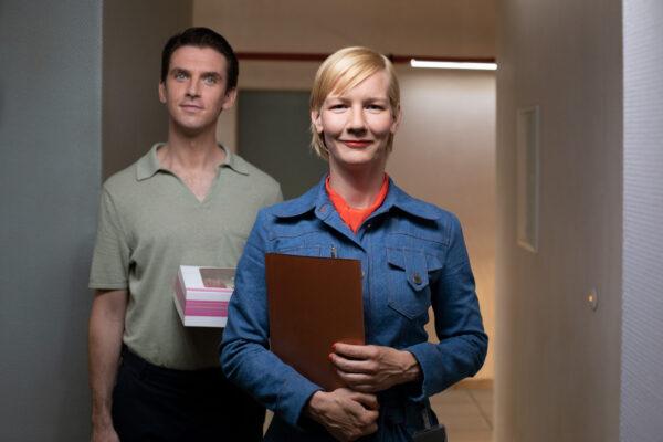 Sandra Hüller  und Dan Stevens, Ich bin dein Mensch (I'm Your Man), R: Maria Schrader, DEU 2021, Wettbewerb 2021 © Christine Fenzl